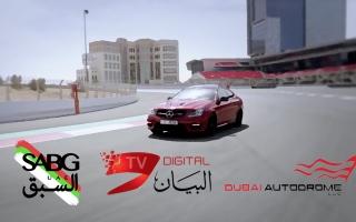 الصورة: شاهد.. مرسيديس C63 أولى حلقات برنامج «السبق UAE»