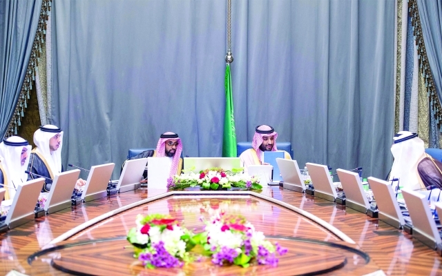 الصورة : ■ وخلال جلسة المباحثات بين الطرفين  |  وام