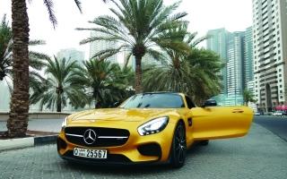 الصورة: الصورة: مرسيدس «إيه إم جي» تذهل السيارات الرياضية