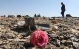 الصورة: الكشف عن آخر لحظات الطائرة الروسية المنكوبة