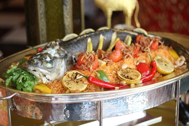 الصورة : كبسة الأرز بالسمك