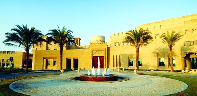 الصورة : مبنى ندوة الثقافة والعلوم