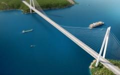 الصورة: «جسر إسطنبول الثالث» أطول جسر معلق في العالم