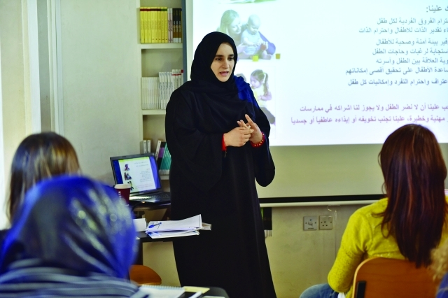 الصورة : شيماء المرزوقي تناقش آليات اختيار  قصص الأطفال