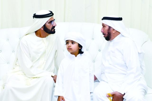 محمد بن راشد وحميد النعيمي يعزيان في وفاة محمد خلفان بن خرباش عبر الإمارات أخبار وتقارير البيان
