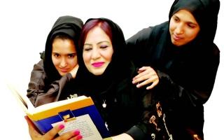 الصورة: عائلة عائشة البلوشي.. كتاب كل شهر