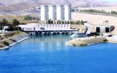 الصورة: الصورة: قلق عراقي من تزايد منسوب مياه سد الموصل