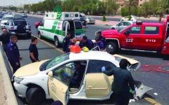 الصورة: الصورة: حوادث السير تدق ناقوس الخطر في الكويت