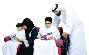 الصورة: سلطان عبد الله: «رؤيتي» أدخلني رياض المعرفة