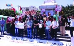 الصورة: الصورة: جامعيون في غزة يتحولون إلى باعة متجولين