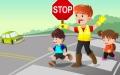 الصورة: الصورة: سلامة الأطفال على الطرقات مسؤوليتنا جميعاً