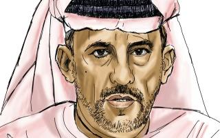 الصورة: الصورة: ناصر العوضي المنهالي: البادية صنعـــــت مني رجلاً صلباً