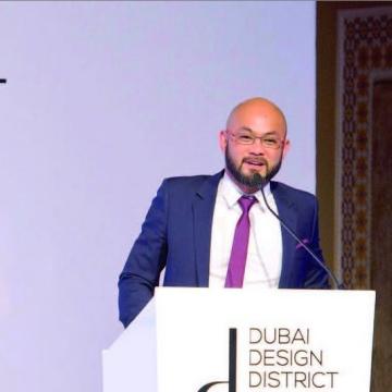 الصورة: «بونغ غويريرو» حي دبي للتصميم شريكه الاستراتيجي الداعم