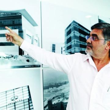 الصورة: ديباك أورورا: قصة معماري طاب له العيش في الدولة طوال 40 عاما