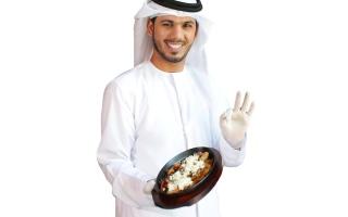 الصورة: خالد الحمادي: طلبت المطافئ لتنقـــــذني من حريق طبق البيض