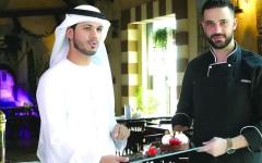الصورة: «خالد الحمادي» على القائمة المحظورة من دخول المطبخ