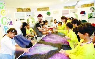 الصورة: الصورة: مخيم مركز الجليلة الصيفي .. مرح ومهارات