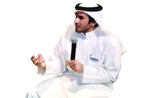 الصورة: محمد النغيمش لـ «البيان »: الإنصات فضيلة منسية عربياً