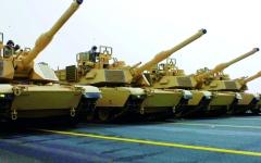 الصورة: الصورة: 153 دبابة أبرامز إضافية إلى السعودية