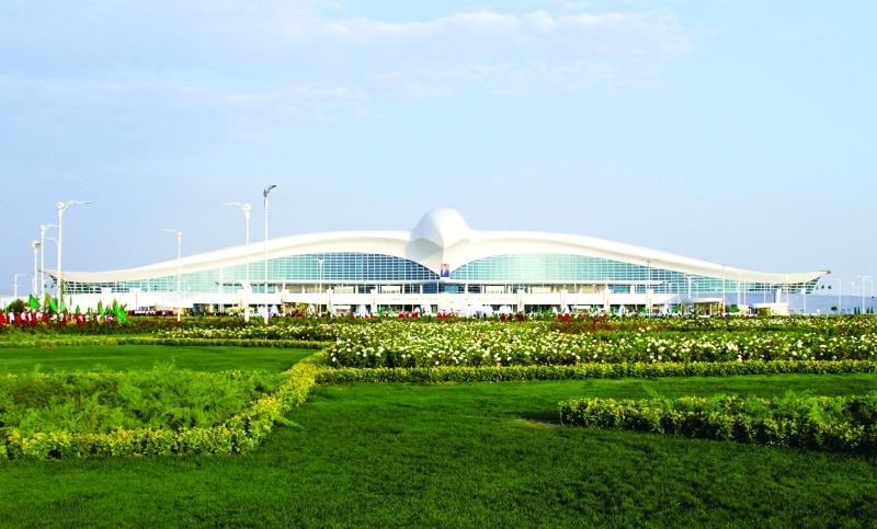 مطار عشق اباد ile ilgili görsel sonucu