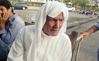 الصورة: نوخذة يروي شهادته عن أيام البحر وصيد اللؤلؤ