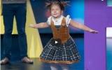الصورة: بالفيديو: «أنجلينا بيلا» الطفلة الروسية المعجزة ذات الـ4 سنوات