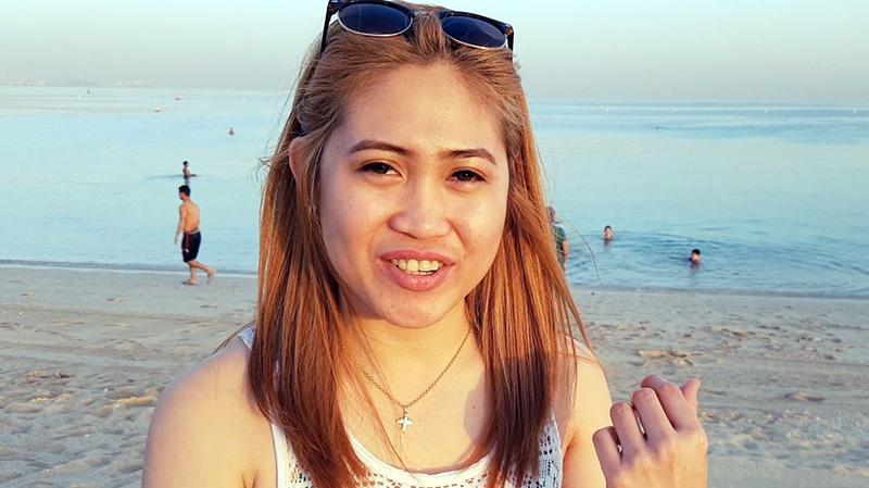 """كريستا / الفلبين: """"أعشق العمل في دبي والعيش فيها""""."""