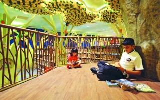 الصورة: مكتبة سنغافورة الوطنية  منصة تفاعلية لعشاق القراءة