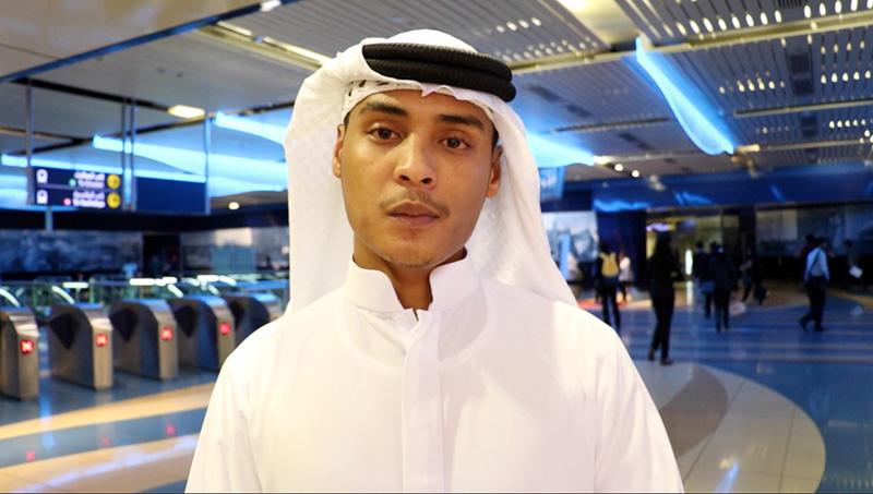 محمد/دبي: لا يحلو لي قراءة الجرائد إلا وأنا في المترو
