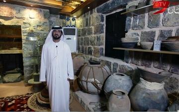 الصورة: أحمد الشحي: بين مقتنياتي الأثرية أشعر بدفء الوطن