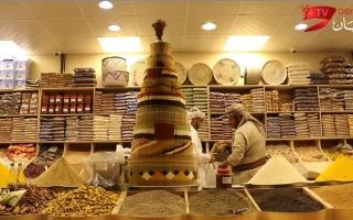 الصورة: الصورة: جناح اليمن في القرية العالمية  بطعم العسل والمكسرات ورائحة التوابل