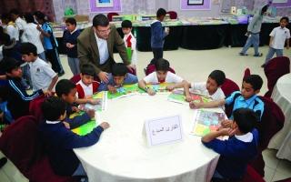 الصورة: مبادرة «عام القراءة» خلاقة والحاجة إليها فعلية