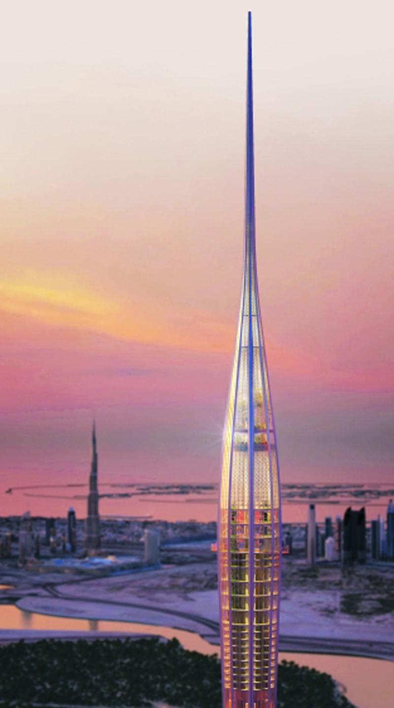 1100 متر هل يتجاوزها برج الخور الاقتصادي السوق المحلي البيان