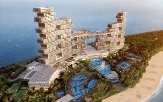 «رويال أتلانتس ريزيدنسيز» أيقونة معمارية جديدة في دبي