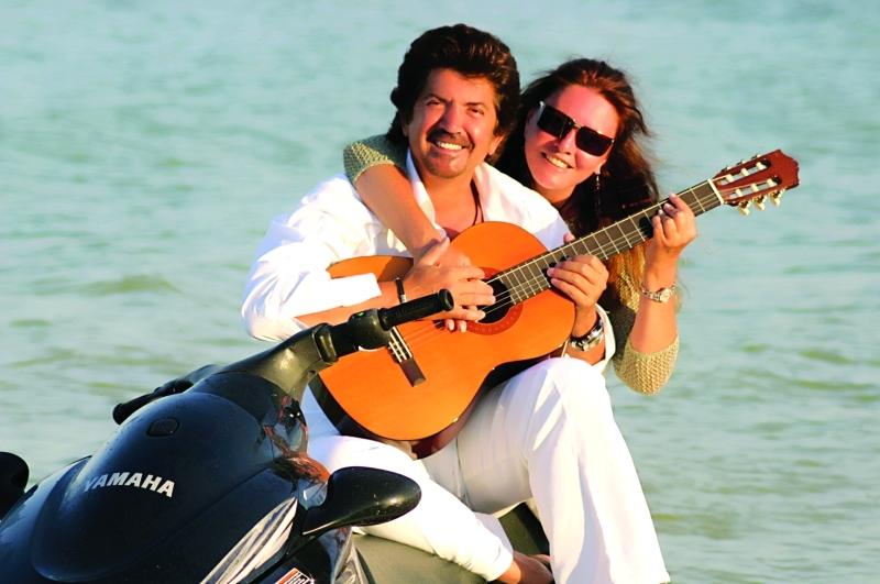 الصورة : جورجينا رزق مع زوجها وليد توفيق
