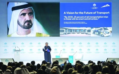 الصورة: الصورة: رؤية محمد بن راشد تُحوّل دبي لريادة التنقل ذاتي القيادة