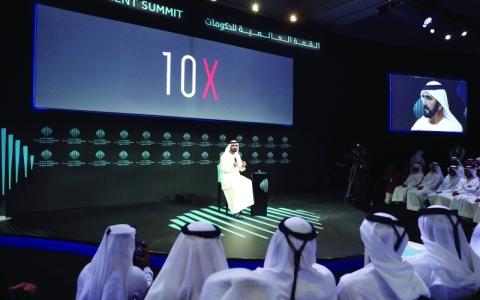 الصورة: الصورة: محمد بن راشد يوجّه حكومة دبي بتطبيـــــــــق ما ستطبقه مدن العالم بعد 10 سنوات