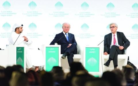 الصورة: الصورة: جلسة مستقبل الطاقة النووية: الأمان والسلامة يتصدران أولويات العالم