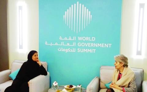 الصورة: الصورة: لبنى القاسمي: مبادرات استثنائية   في التسامح تقدمها الإمارات للإنسانية