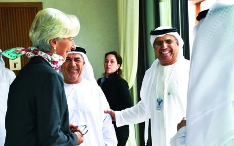 الصورة: الصورة: عبيد الطاير: الإمارات نموذج رائد  ومقر للراغبين في تأسيس أعمالهم