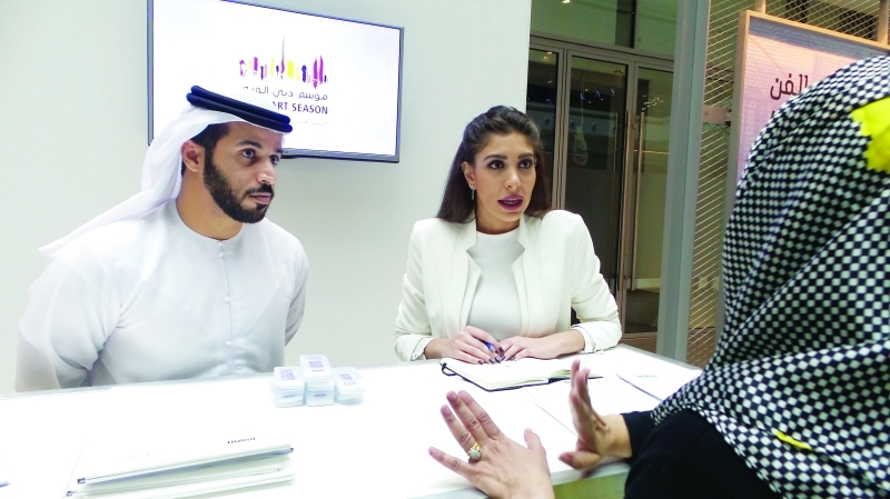 ركن هيئة دبي للثقافة والفنون المعنية بموسم دبي الفني | البيان