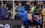 الصورة: ماذا فعل أسمن حارس بالعالم خلال لقاء فريقه ضد آرسنال؟