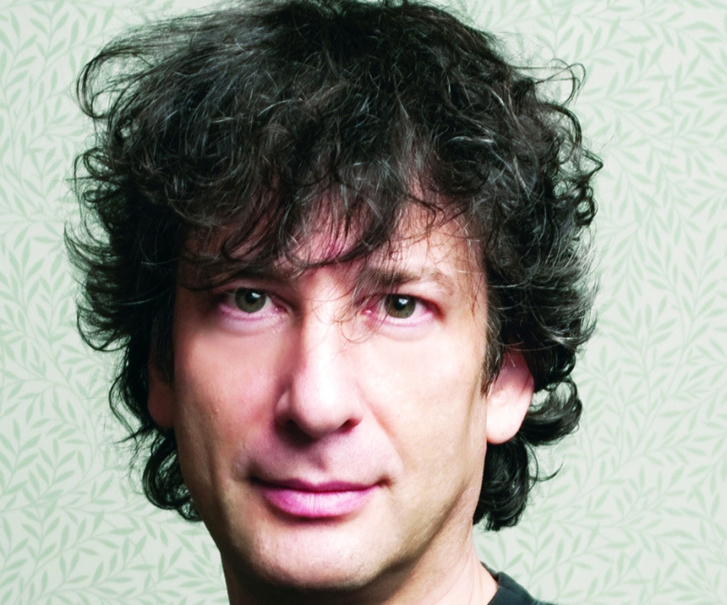 الصورة : Neil Gaiman's other books include American Gods, Coraline and Stardust