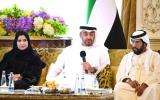 الصورة: محمد بن زايد: الإمارات زاخرة بنماذج وفية ومخلصة تتحلى بالمسؤولية الوطنية