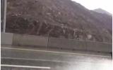 الصورة: أمطار رعدية غزيرة على مناطق الفجيرة والساحل الشرقي
