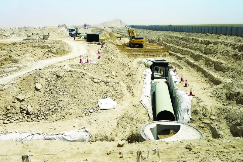 ■ تجهيز البنية التحتية الأساسية للموقع