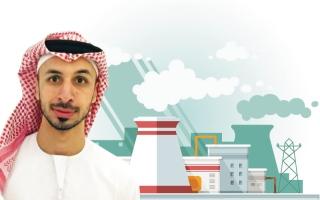 الصورة: الصورة: طارق الهاشمي:الطاقة النووية السلمية محرّك الازدهار ومفتاح كل جديد