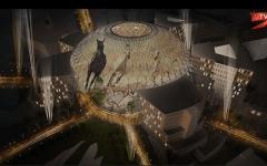 """الصورة: شاهدوا روعة تصاميم ساحة الوصل أيقونة """"إكسبو 2020"""""""