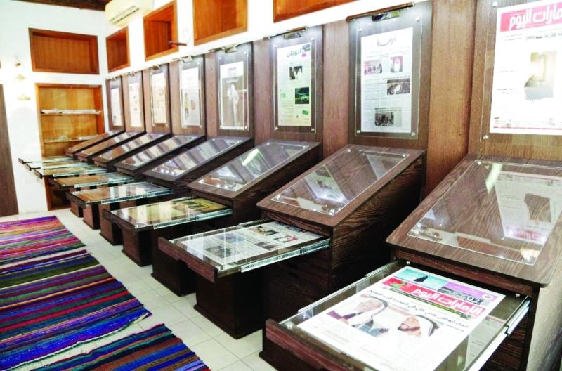 المعرض يلقي الضوء على إنجازات الصحافة المحلية