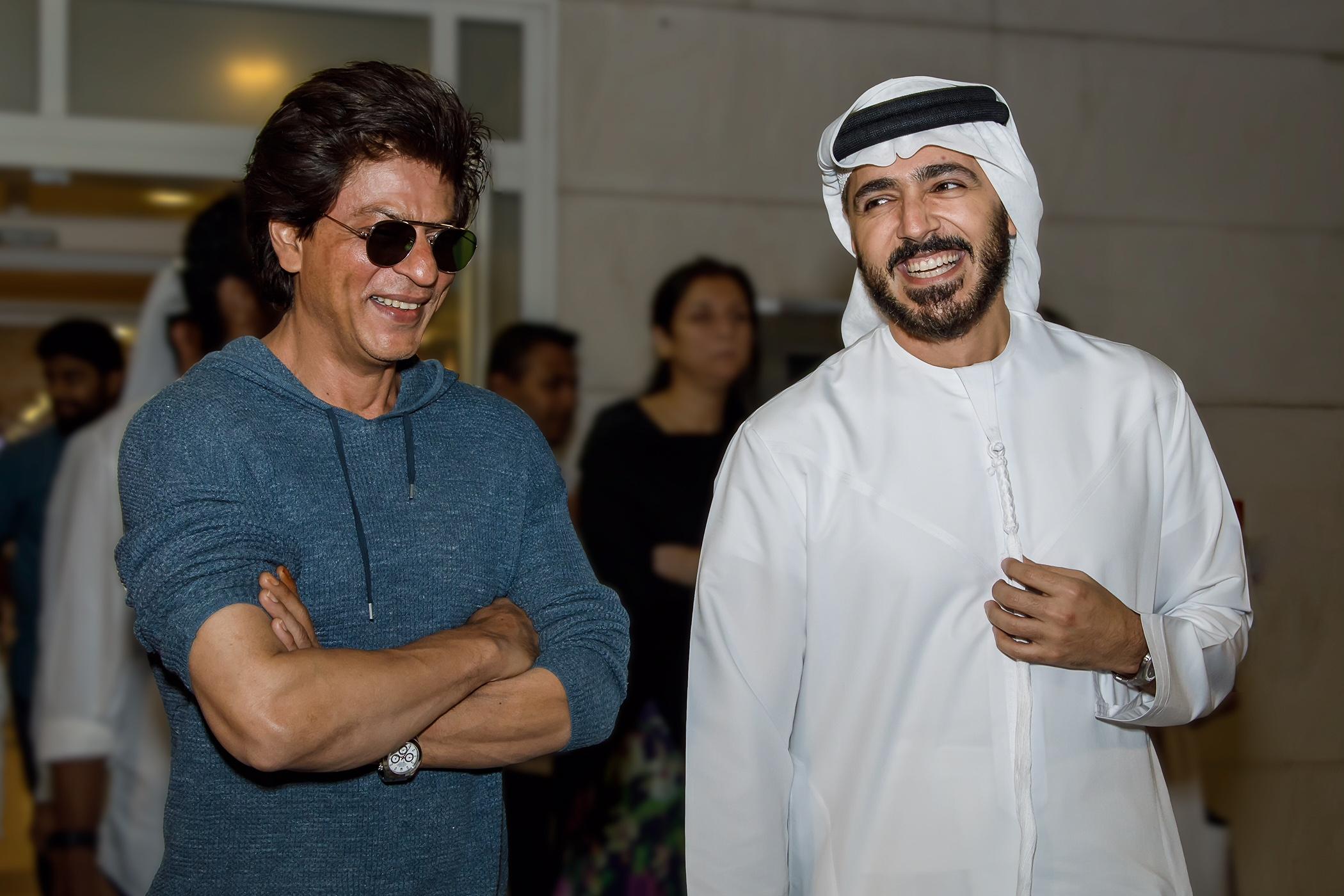 شاروخان يعود إلى دبي لتصوير الجزء الثاني من الفيلم الترويجيكن ضيفي
